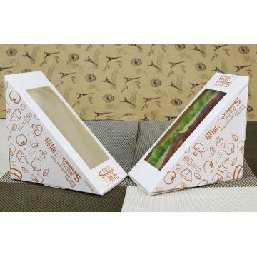 Zahlungs-Sicherheitsgarantie verschönern Sandwich-Verpackungsbox
