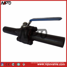 3-PCS Forged Floating Ball Valve with Extension Pipe (Q41F)