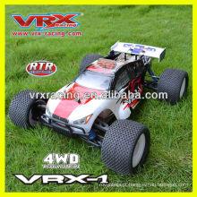 carro do RC, 1/8scale carro 4WD carro elétrico, carro de modelo sem escova, RTR brinquedo, marca VRX.