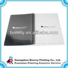 Plastic cover spiral notebooks