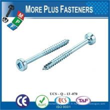 Fabriqué en Taiwan Cylindre et Garniture de remplissage Connecteur de joint Connecteur Bolt Porte-connecteur Bolt Flat Head Hex Joint Connector Bolt