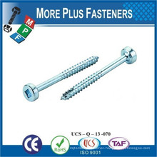 Made In Taiwan Cylinder and Fillister Head Joint Connector Bolt Furniture Connector Bolt Flat Head Hex Joint Connector Bolt