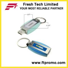 Llavero de metal USB Flash Drive con logotipo (D307)