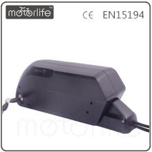 A bateria a mais nova da garrafa de MOTORLIFE, bateria elétrica da bicicleta de 48v 11.6ah