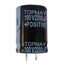 2200UF 100V Snap-in Terminal Electrolytic Capacitor