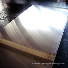 Folha de alumínio 1100 H14 para vendas quentes de fãs