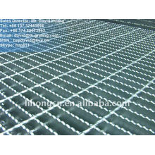 galvanized serrated metal grating