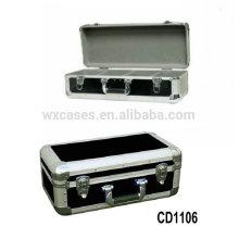 caja de CD de alta calidad CD 60 discos (10mm) de aluminio por mayor