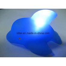 Animal plástico PVC plástico Kids Presentes Night-Light brinquedo piscando