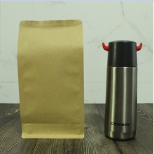 250g flat bottom kraft paper bag without zipper