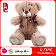 La Chine usine joue des cadeaux mignons de peluche de cadeaux de Valentine d'ours