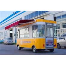 2016 El mejor precio Camión móvil eléctrico de la comida con el surtidor de lujo de la versión en China