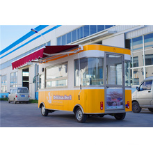 2016 Best price Electric Mobile Food Truck with Luxury version Supplier in China