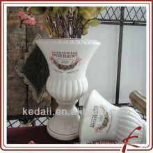 2013 neues Einzelteil für Hauptdekor - keramische Blume antike Vasen
