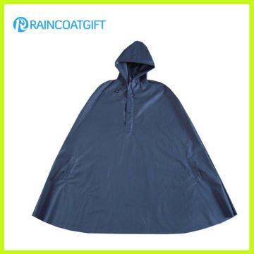 Navy Lightweight Soft EVA Rain Poncho