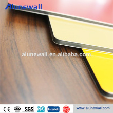 4mm PVDF coating high quality aluminium composite panel for table tennies table