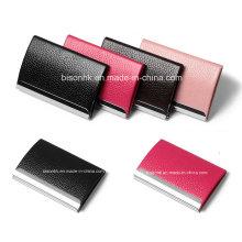 Porte-cartes de visite en cuir, titulaire de carte d'affaires