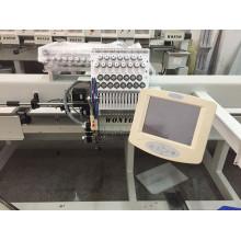 """Máquina de bordar de cabeza única de 1500 * 800 mm con pantalla táctil LCD de 8 """"de gran tamaño"""