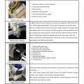 Máquina de corte a laser para tubo de aço inoxidável 6M