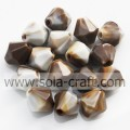 Solid Mixed Colors Loose Acrylic Jewelry Spacer Beads