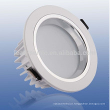 Rodada recesso 20w cob led downlight