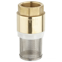 Brass Cheak Valve with Filter (a. 0196)