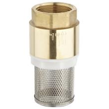 Клапан латунный Чак с фильтром (a. 0196)