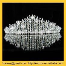 imperial round rhinestone star Tiaras crown