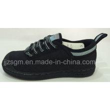 Acero zapatos de trabajo y seguridad con lona superior
