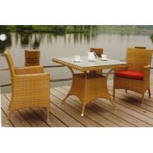 Ensemble de chaises meubles de concepteur en plein air tout confort