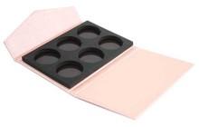 New pocket purse design 6 colours cardboard eyeshadow packaging