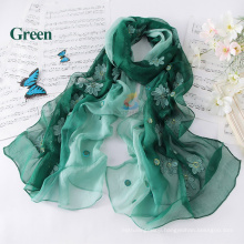 New arrived high quality custom design hijab Pure Silk Scarf Shawl 100% Silk Shawl