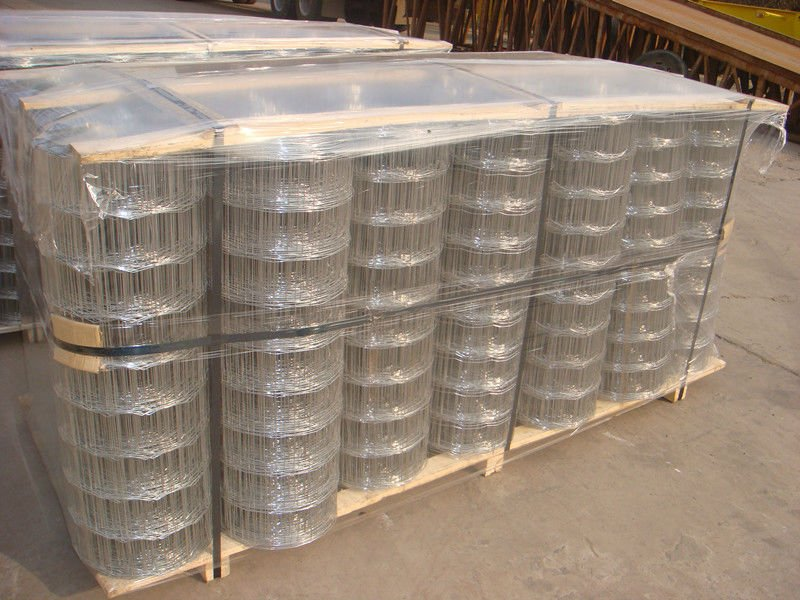 Galvanised Wire Field Fence