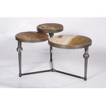 Foldable Metal Coffee Table
