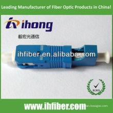 LC hembra SC macho adaptador de fibra SM