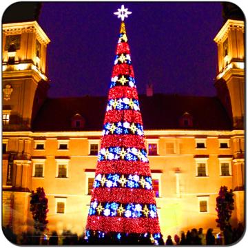 Оптоволокно Giant LED Tree Открытый праздник света
