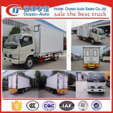 Fabricante !!! Frigorífico van, 3 Tons camiões refrigerados para venda