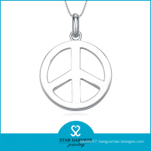 Peace Fashion 925 Sterling Silver Jewelry Necklace (SH-J0135)