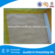 100t yellow dpp monofilament polyester screen print mesh