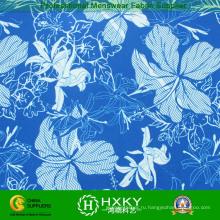 Обычная напечатанная ткань кожи персика для купальники или пляжные шорты