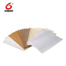 Papier anti-adhésif siliconé double face