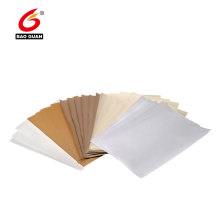 Double side silicone coated glassine release paper