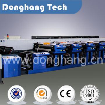 Máquina de impresión flexográfica de color de la taza de papel 10