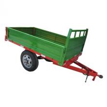 Tractor transportador volquete hidráulico volcado granja remolque