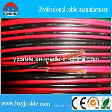 Красный и черный акустический кабель Straned Pure Copper Параллельный кабель