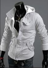 2014 Hot hooded cardigan casual brushed XXXL Men