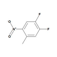 4, 5-difluoro-2-nitrotolueno N ° CAS 127371-50-0
