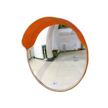 60cm outdoor round plastic PC lens convex mirror for road corner