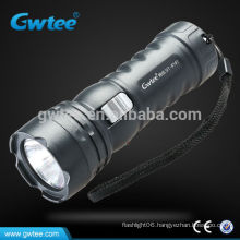 Mini rechargeable electric green led flashlight