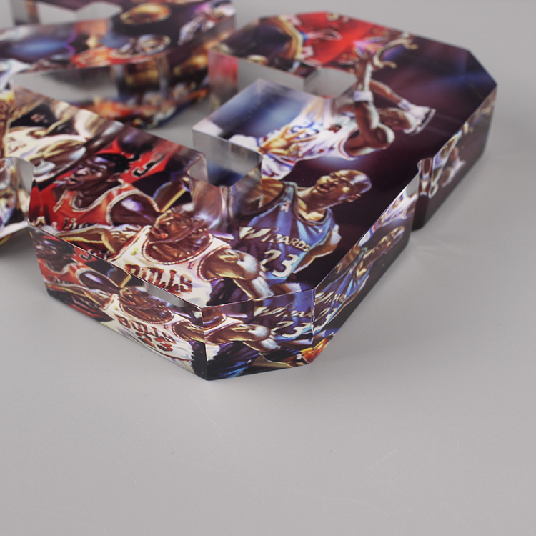 Clear Acrylic Photo Cubes
